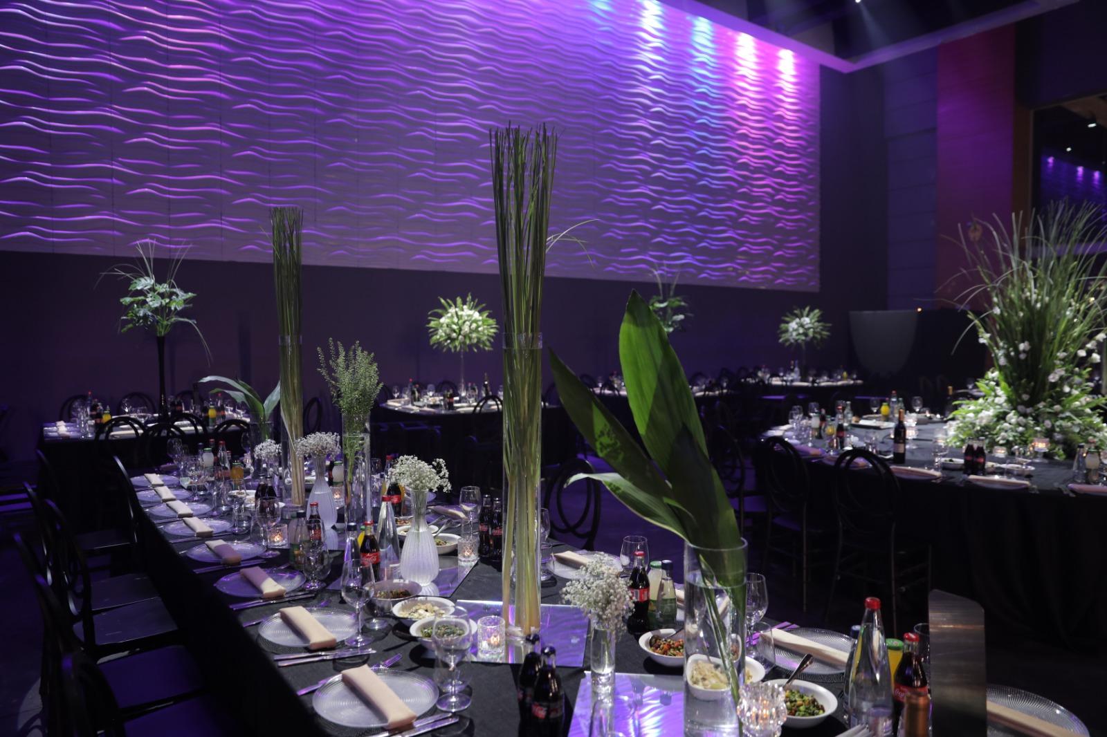 עיצוב מרכז שולחן לחתונה